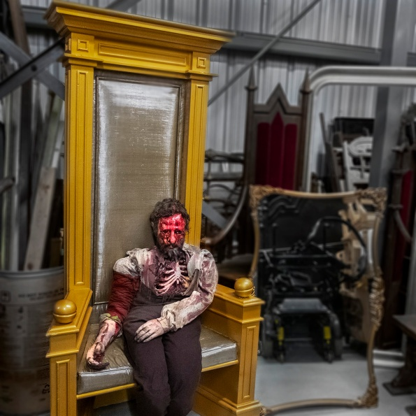 """""""The Corpse,"""" Stratford Festival prop & costume warehouse"""