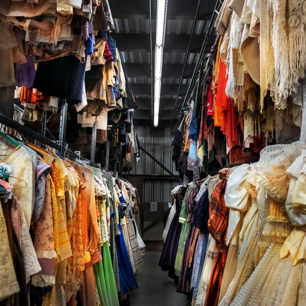 Costumes, Stratford Festival prop & costume warehouse