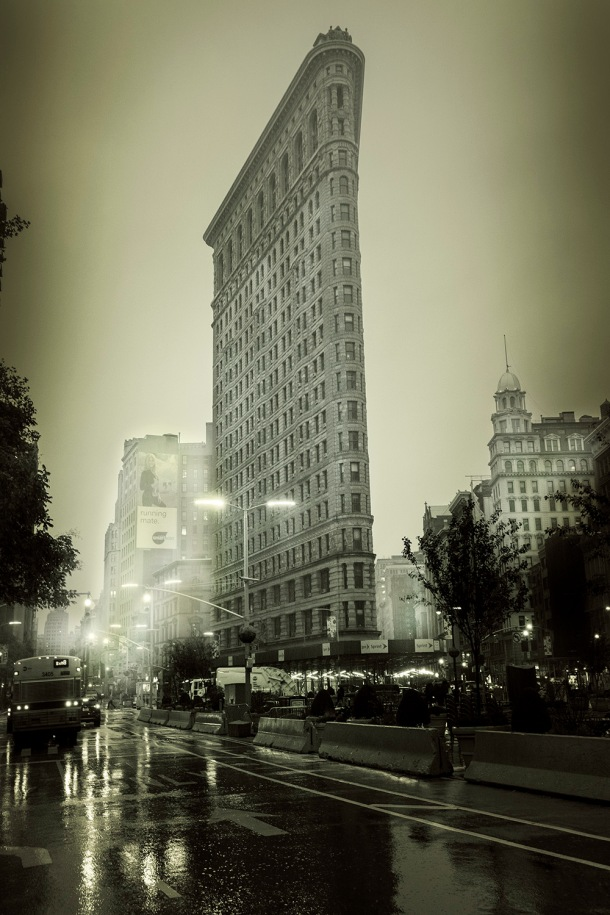 NYC.2018_Flatiron.sunrise_BW