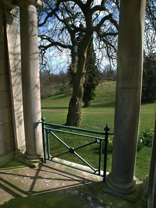 View from gazebo, Luton Hoo
