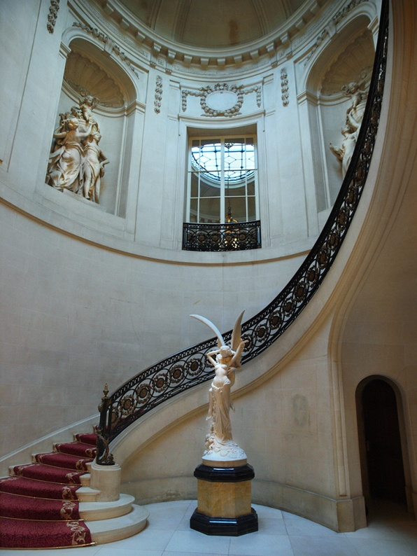 Foyer and staircase, Luton Hoo